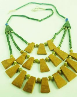 Jade and Mix Stone Necklace – Traditional Design