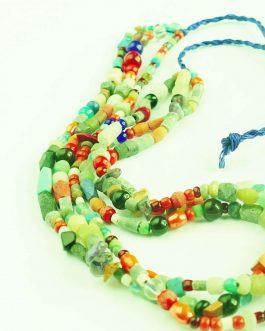 Mix Stones Unique Design Necklace