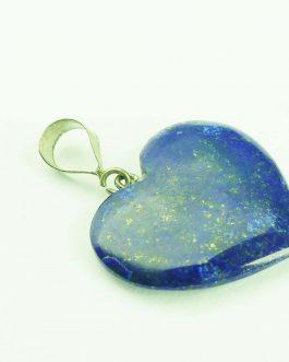 Lapis Lazuli Heart Pendent