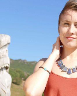 Exotic Design Lapis Lazuli Necklace